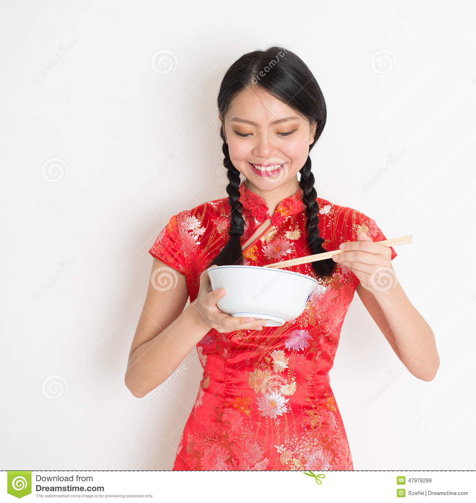 rice girls Asian