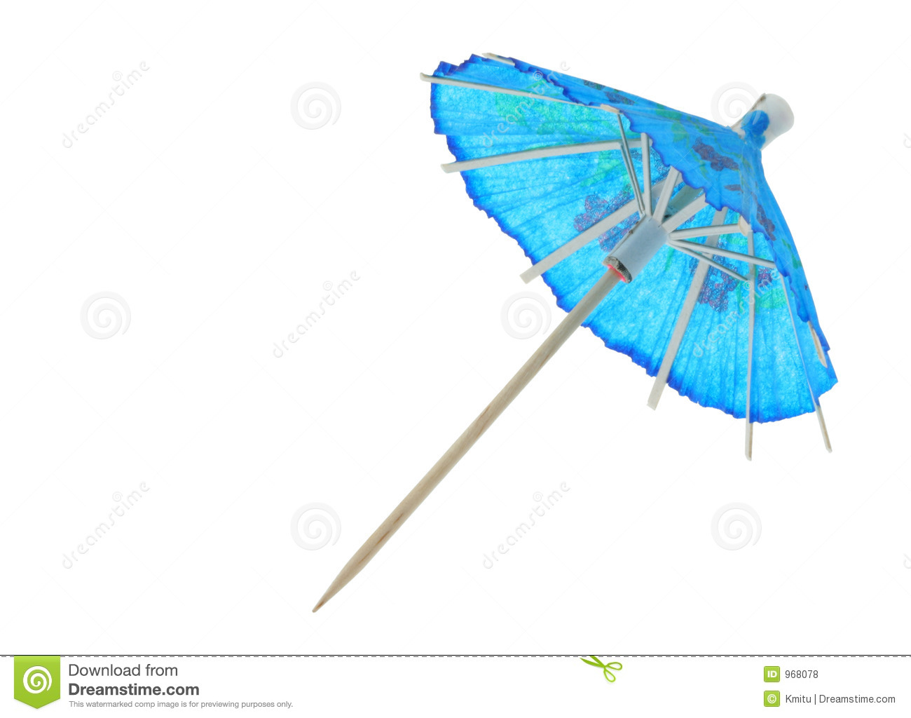Asian Cocktail Umbrella Royalty Free Stock Photos - Image: 968078