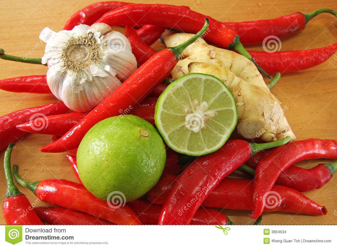 Asian cooking ingredients stock photo image of fresh for Asian cuisine ingredients