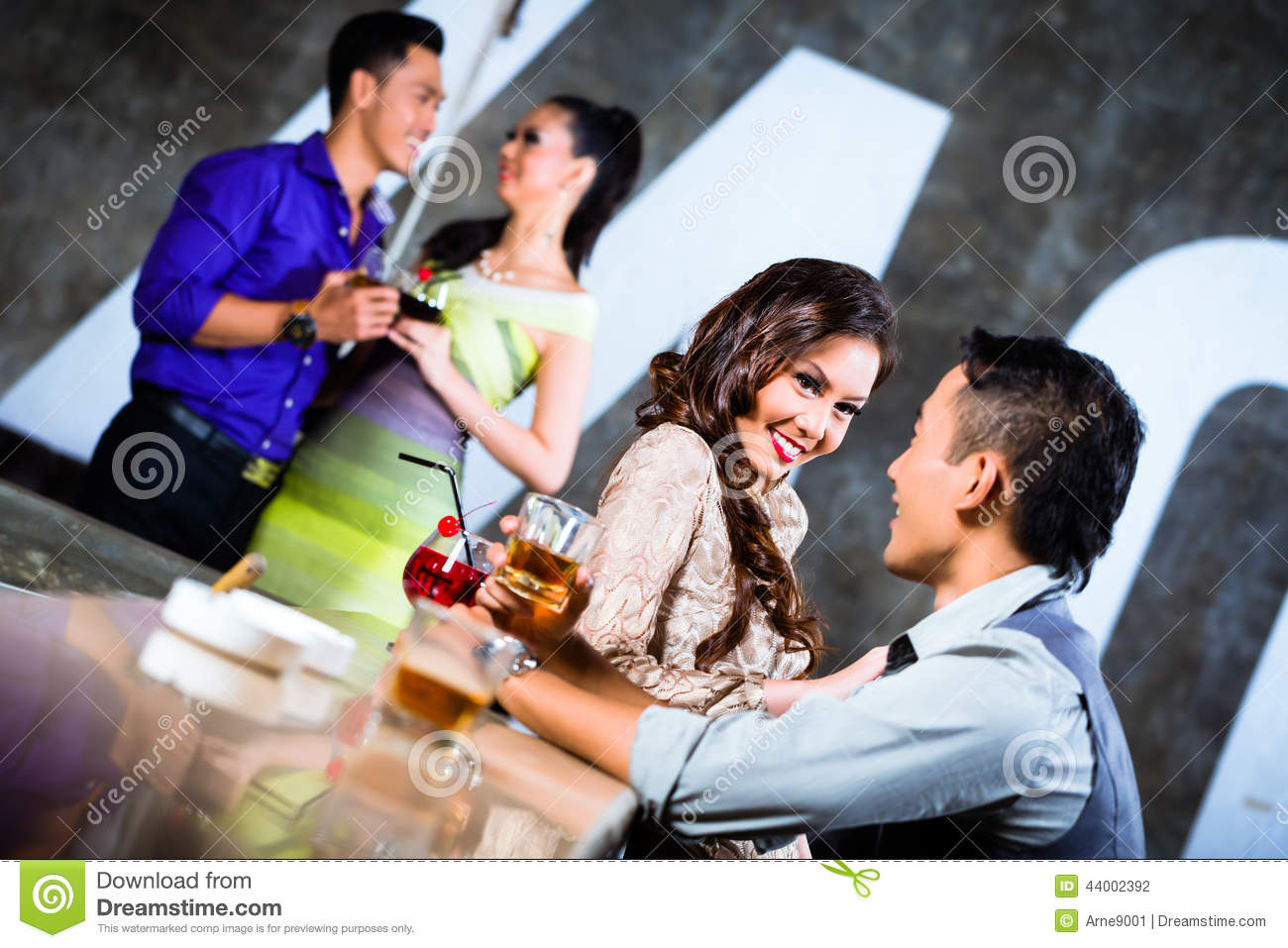 Asian couple after party 2