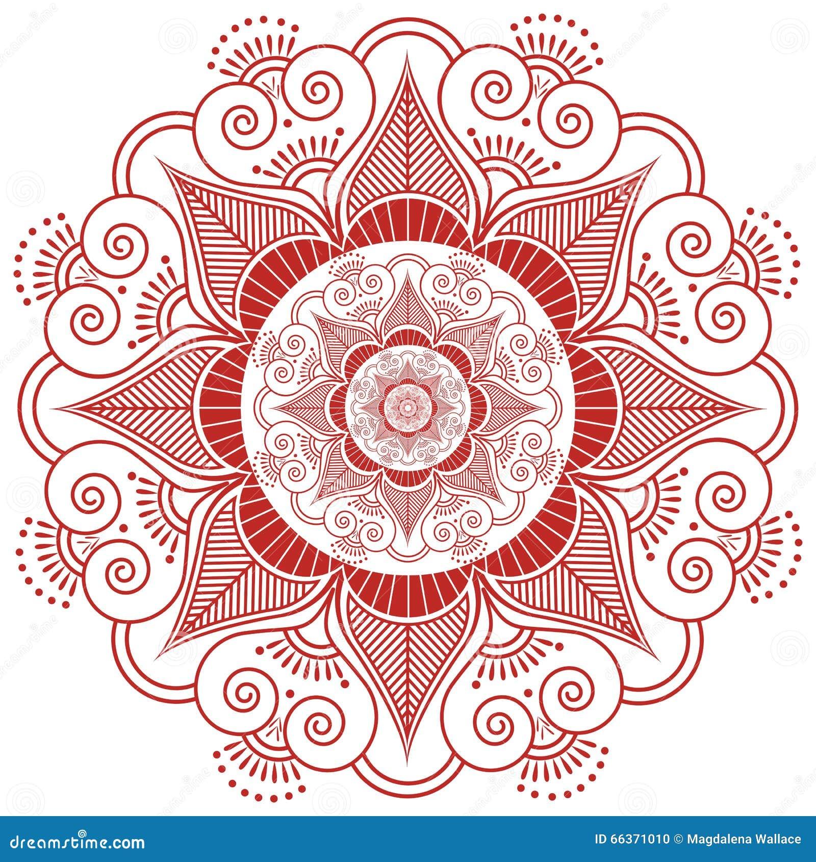 Asian Culture Inspired Wedding Makeup Mandala Henna Tattoo