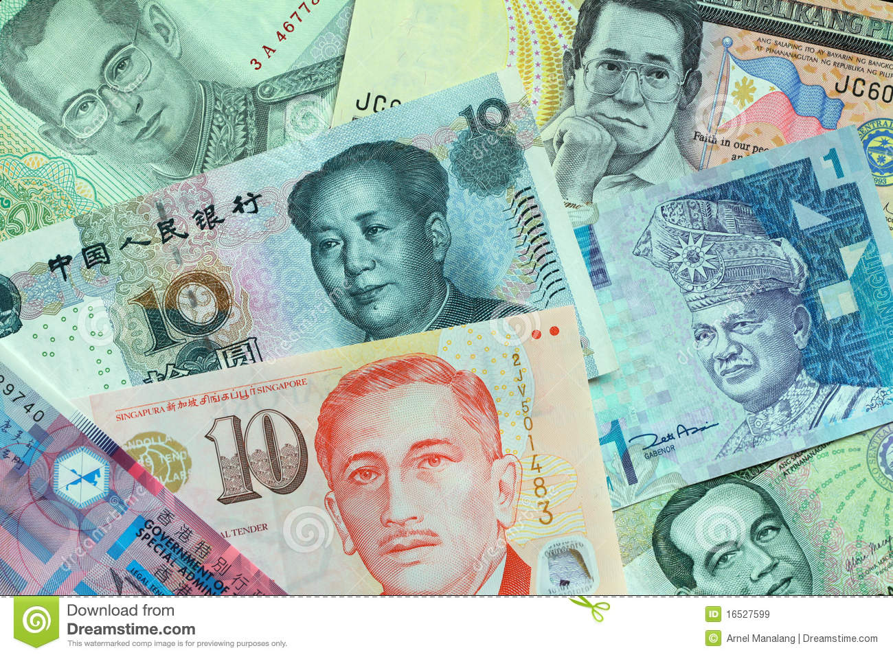 Best and Worst Asian Currencies vs. US Dollar (Jan-Sept 2017)
