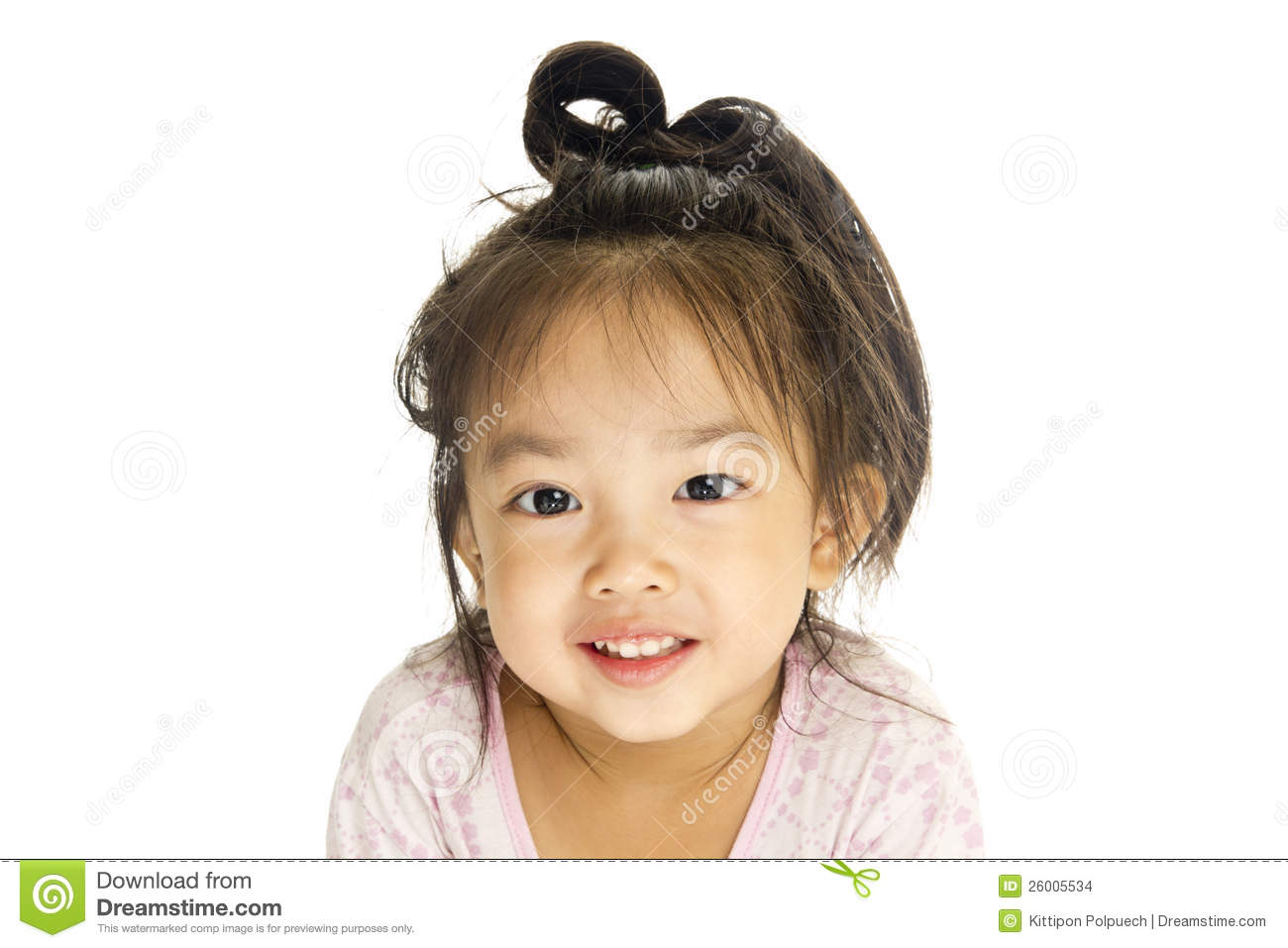 Asian Cute Little Girl Stock Images - Image: 26005534