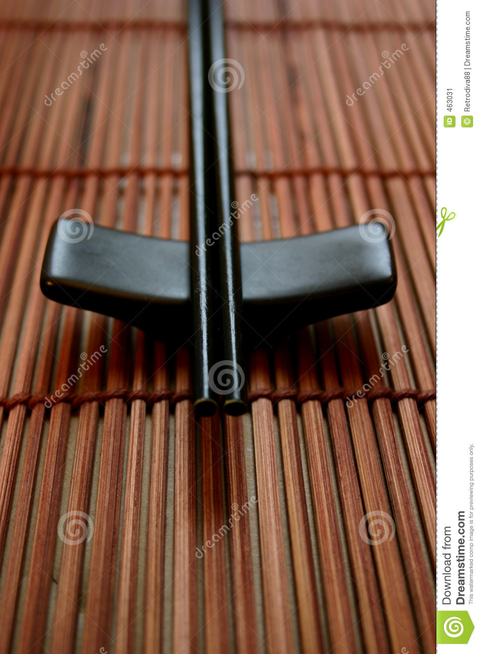 Download Asian Dining Set - Chopsticks And The Holder Stock Image - Image of neutral, elements: 463031