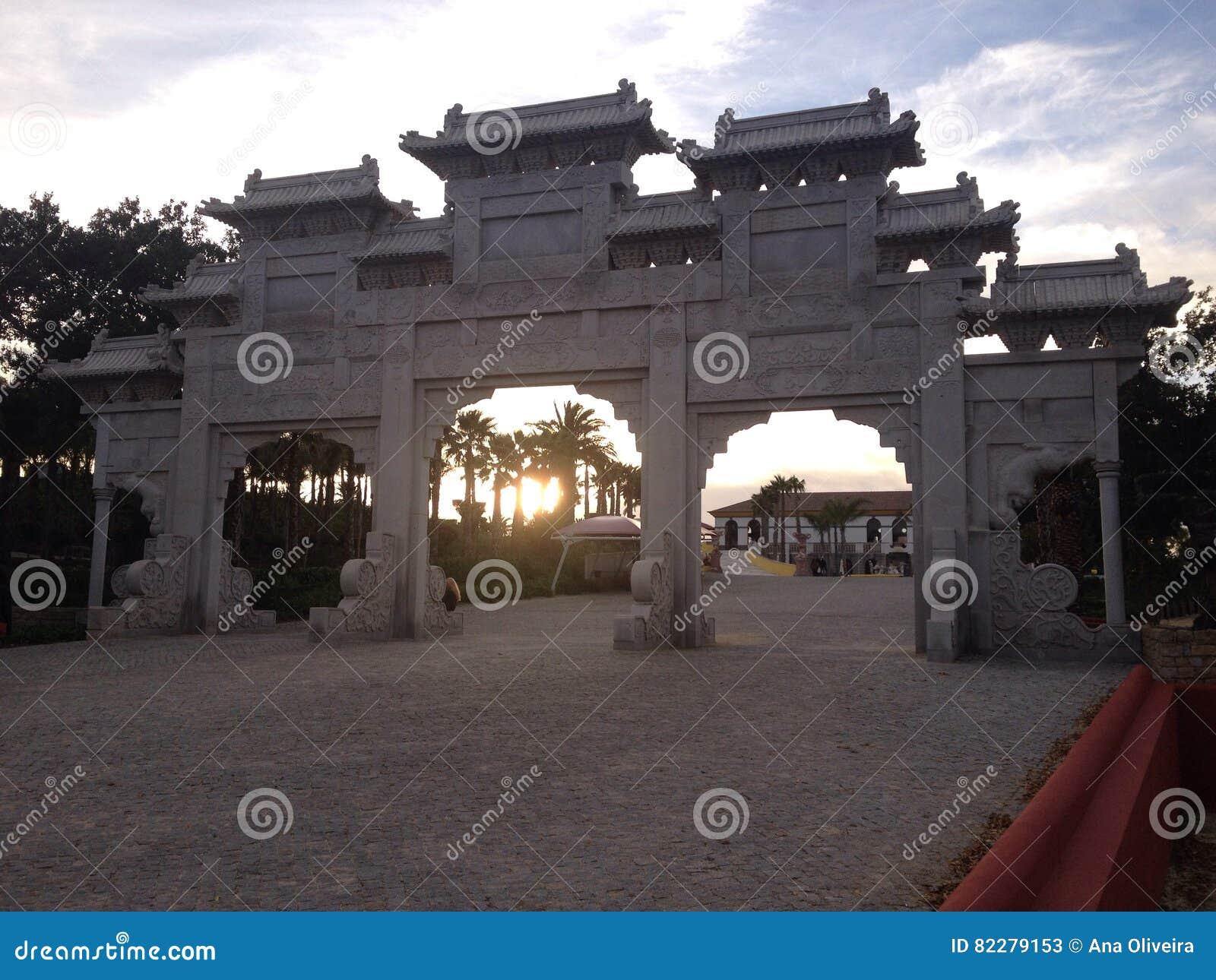 Asian doorway stock image. Image of style, japanese, doorway