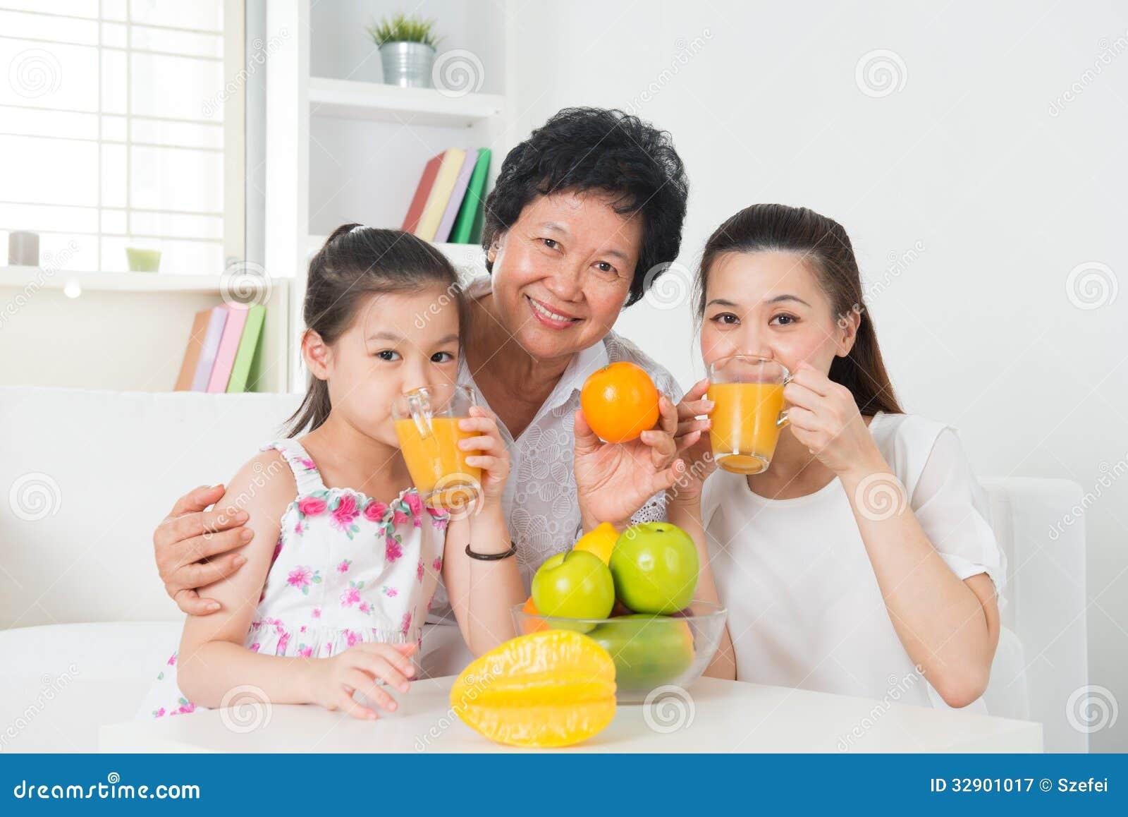 Asian teen squeezes love juice