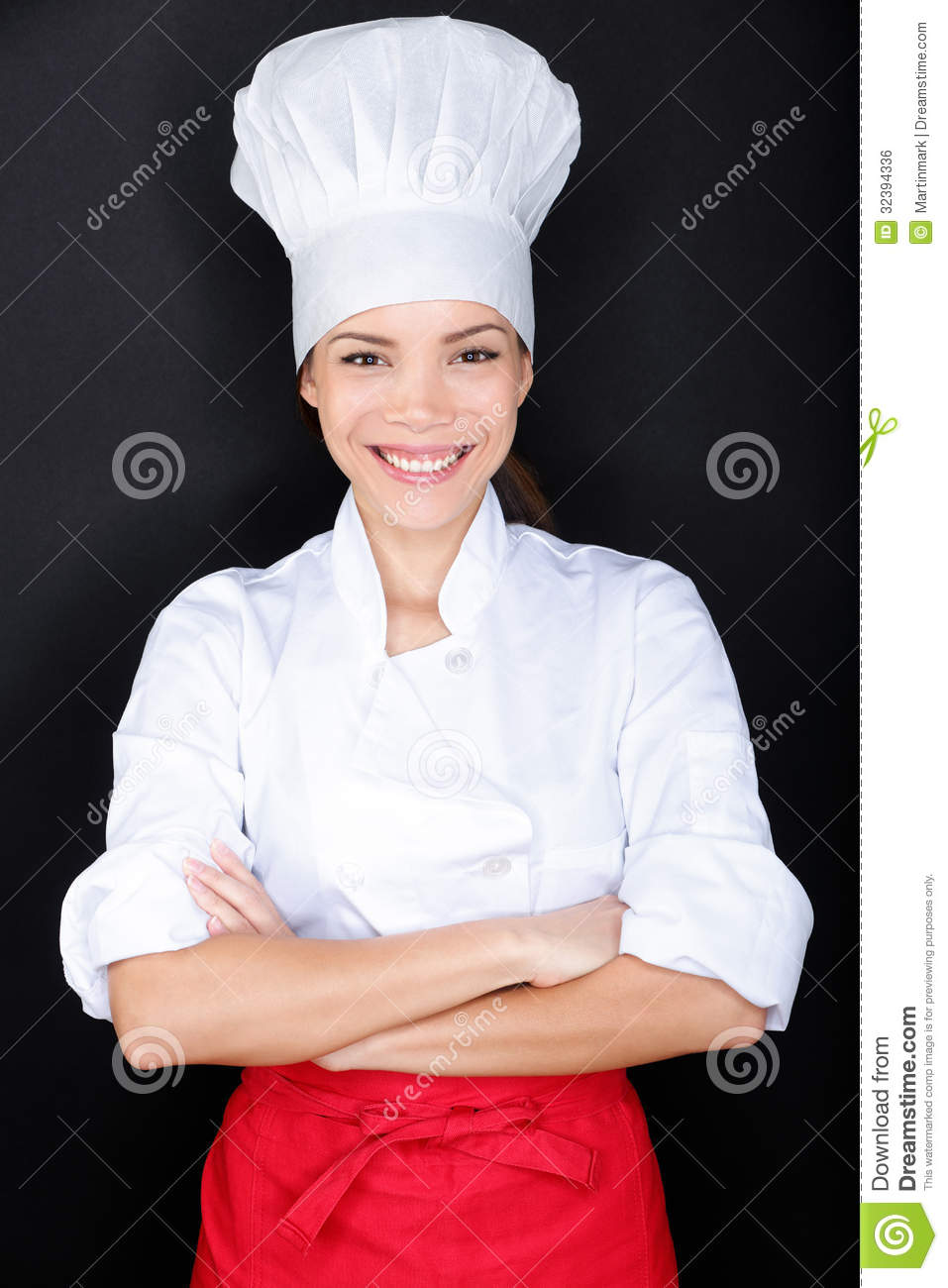 Chef whites uniform and hat royalty free stock image image 32394336