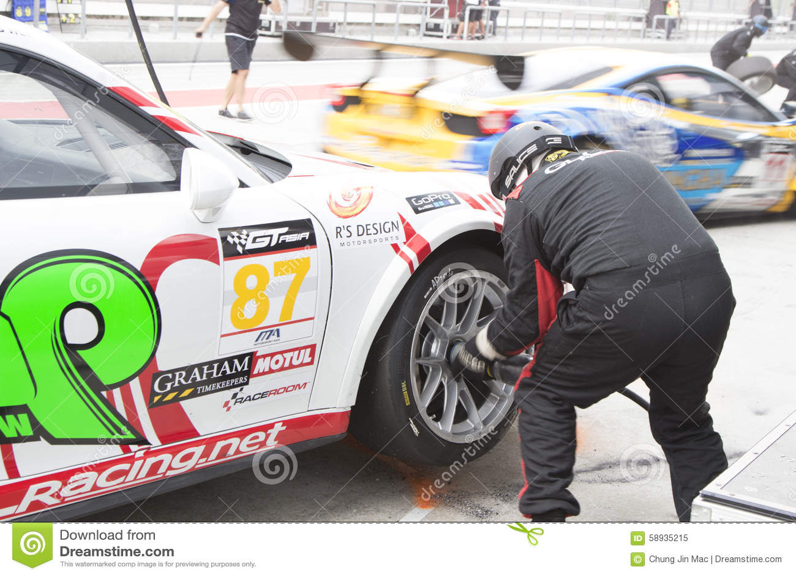Asian Festival of Speed, GT Asia main race, Sepang Malaysia