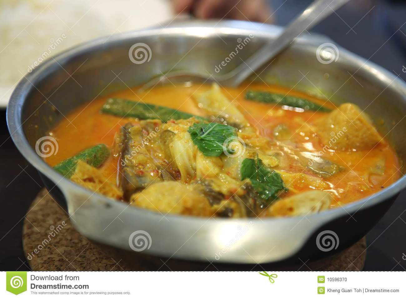 how to make a asian fish curry