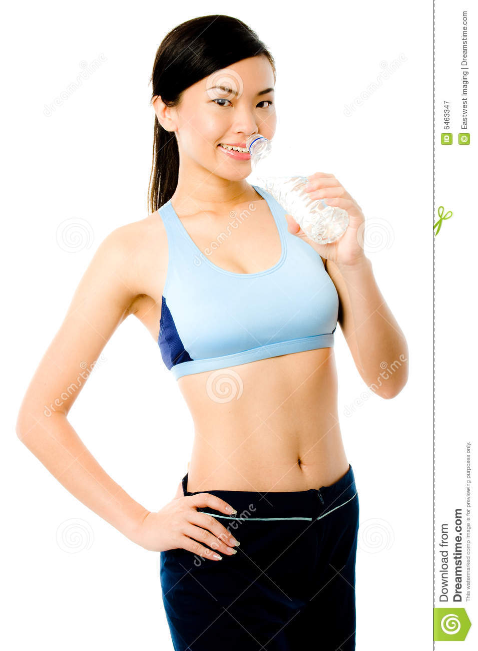 woman asian fitness