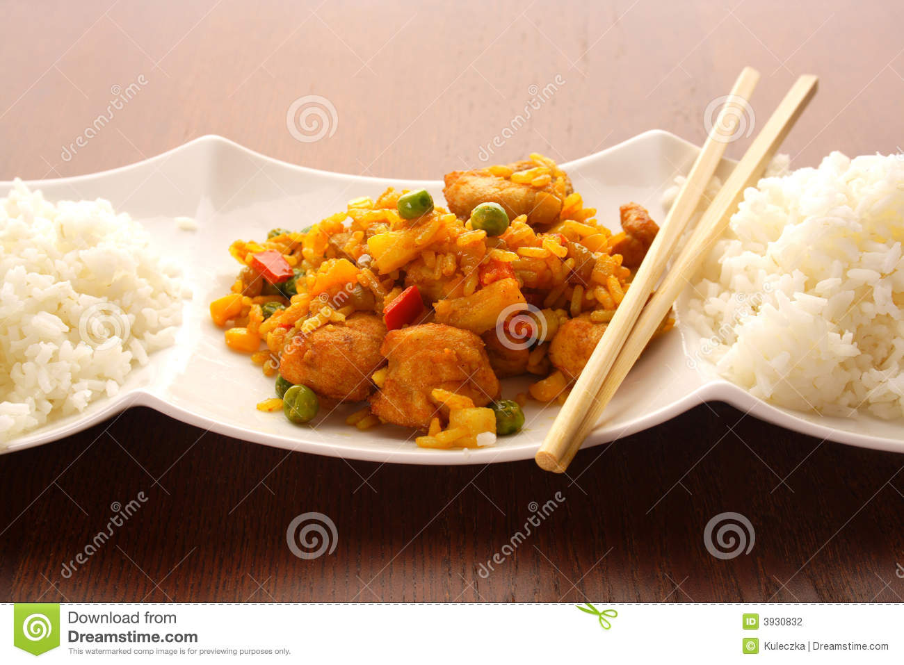 Asian food stock photography image 3930832 for Asian cuisine indian and thai food page