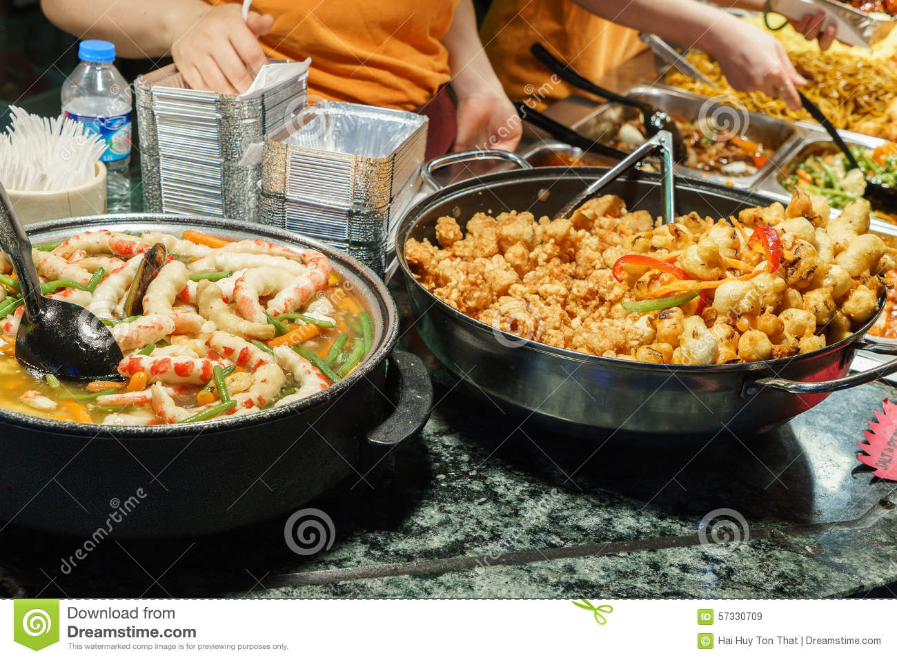 Asian food stock image image of cook delicious buffet for Asian cuisine london