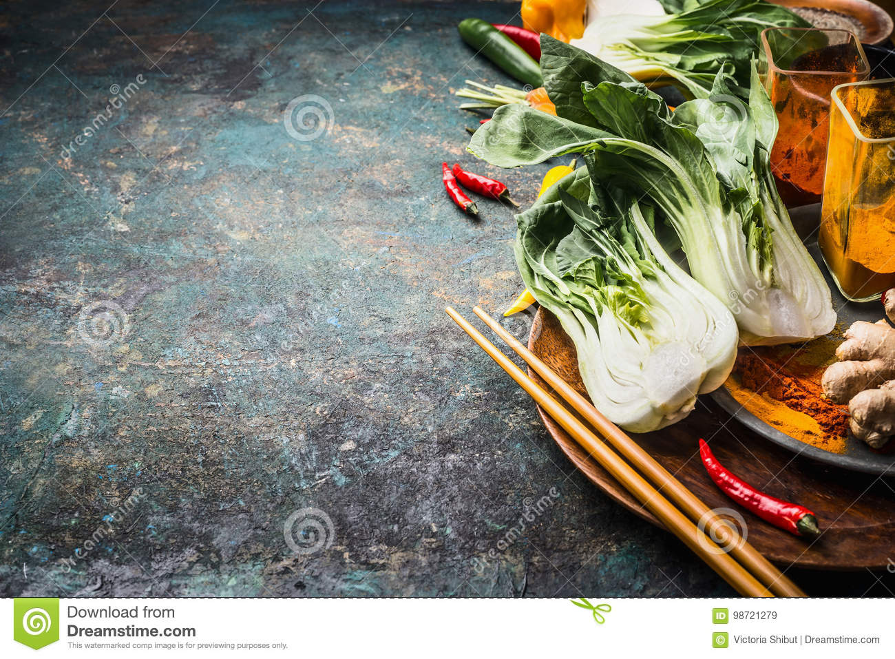 Asian food and eating concept chinese or thai cuisine cooking download asian food and eating concept chinese or thai cuisine cooking ingredients with pak forumfinder Images