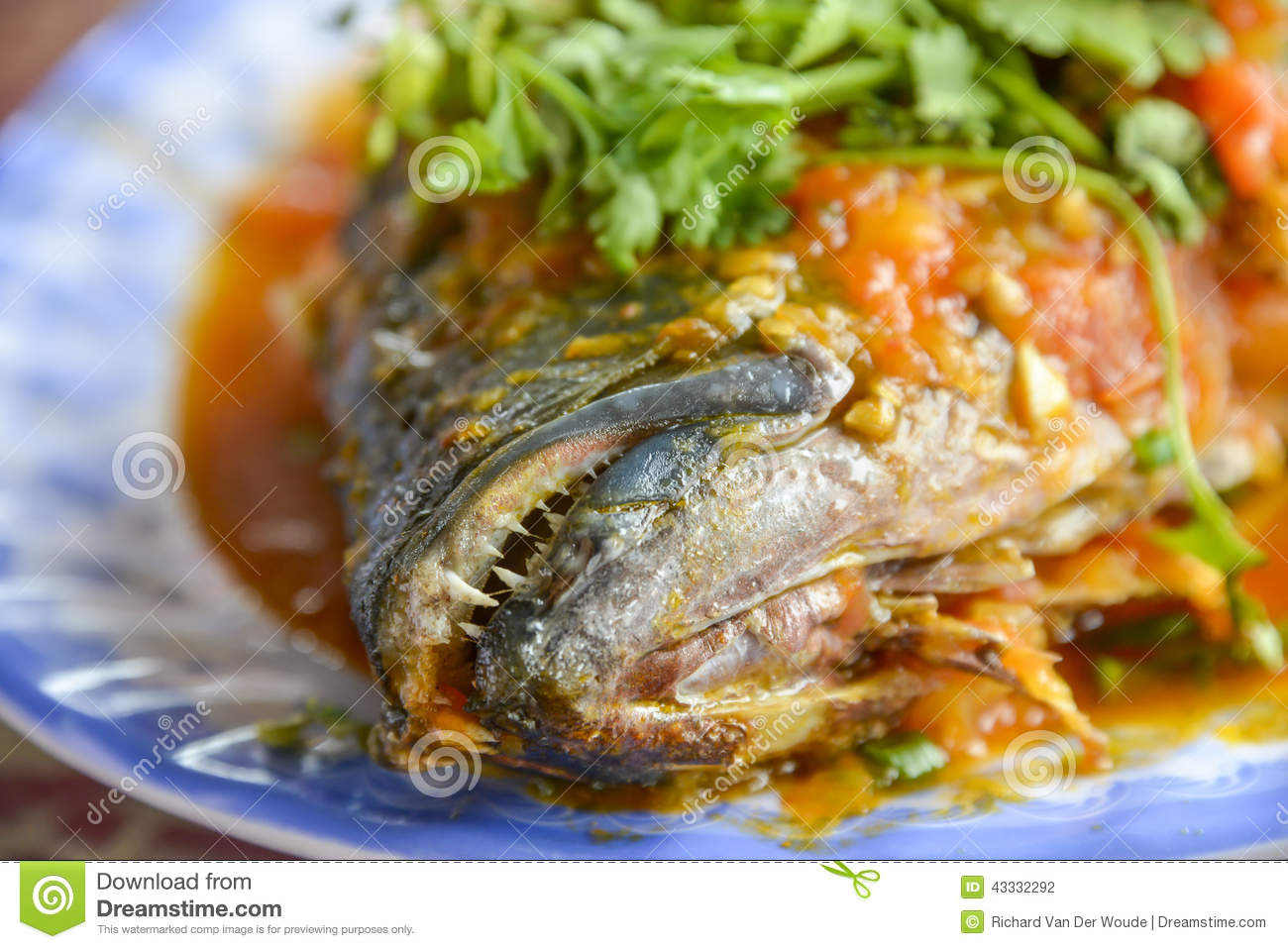 Asian food fried rice with seafood stock photo image for Aqua malaysian thai cuisine