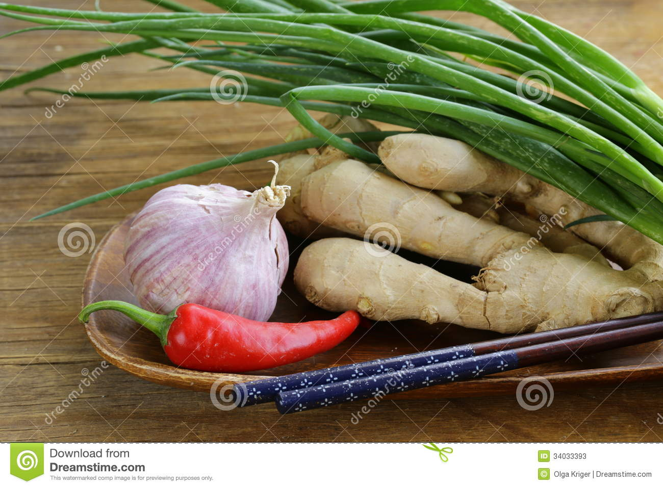 Asian food ingredients ginger chili pepper stock photos for Asian cuisine ingredients