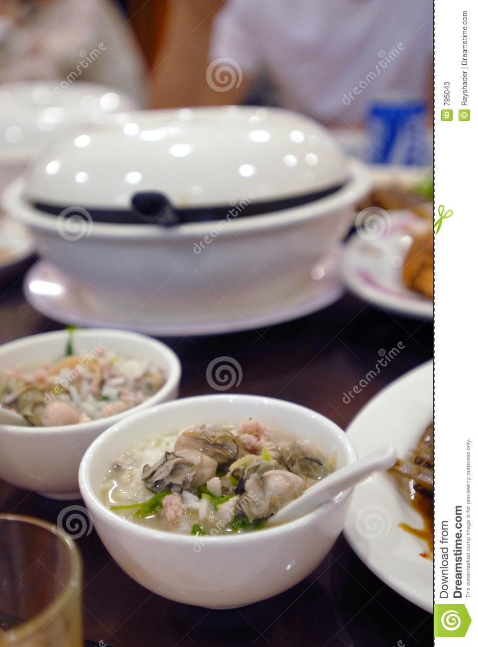 Asian food oyster soup stock photos image 795043 for Authentic asian cuisine