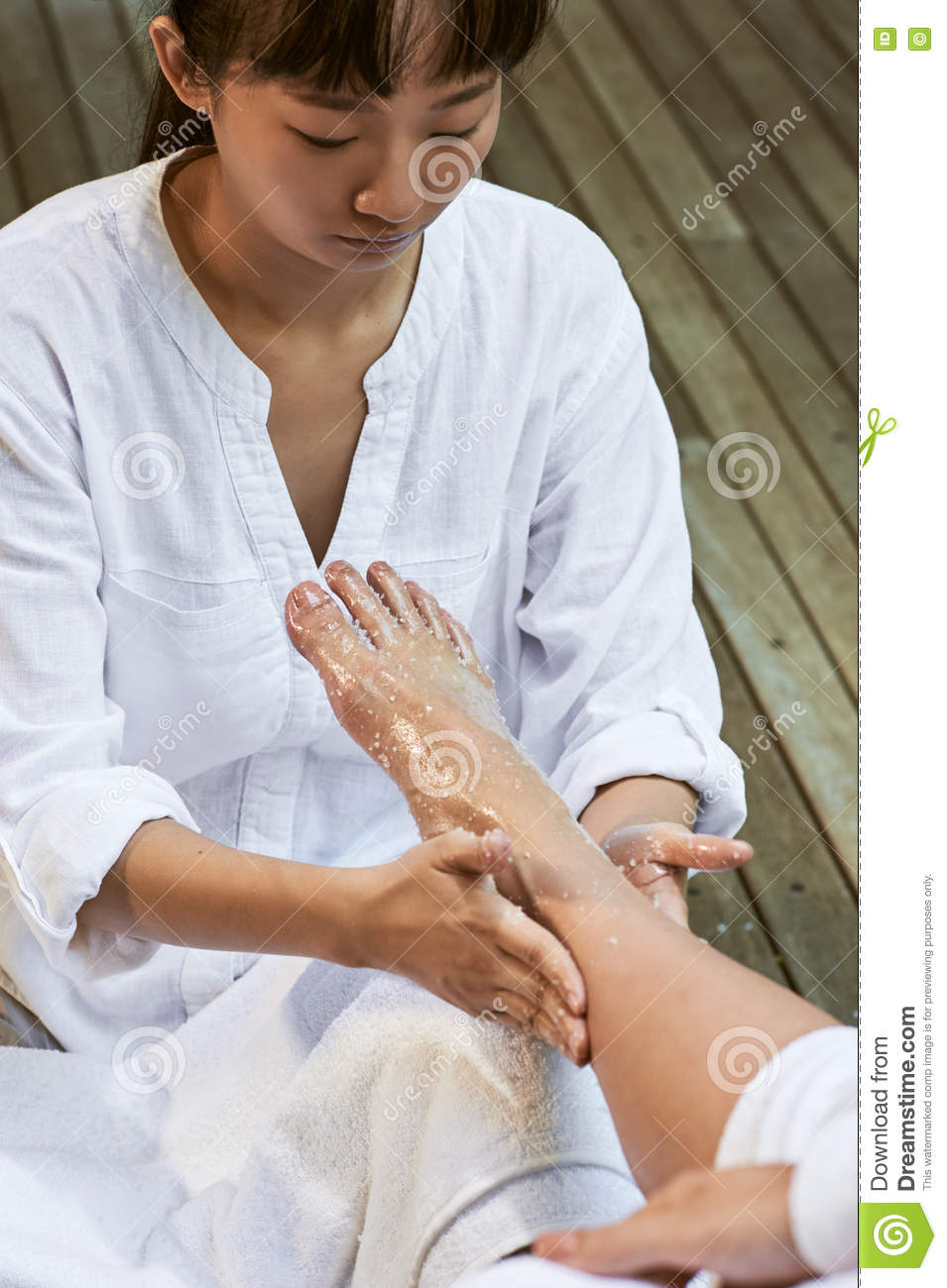 Asian Foot Massage