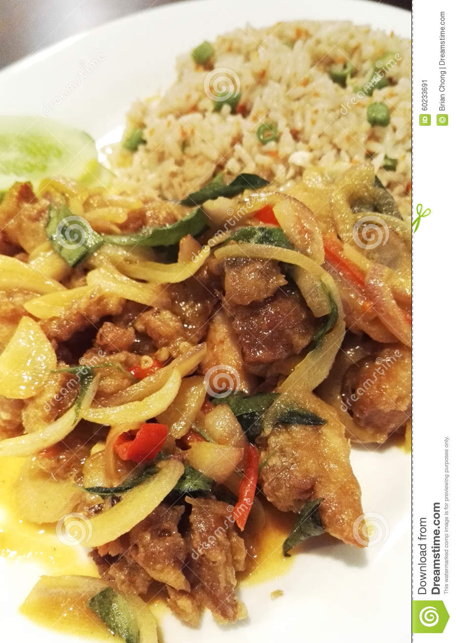 how to make salted egg chicken