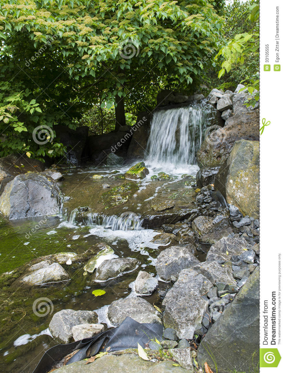 Asian garden with pond royalty free stock photo image for Garden pond stones