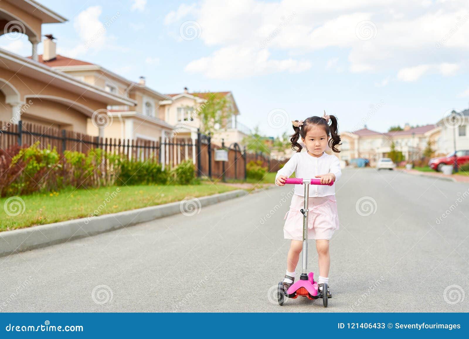 Asian riding camera