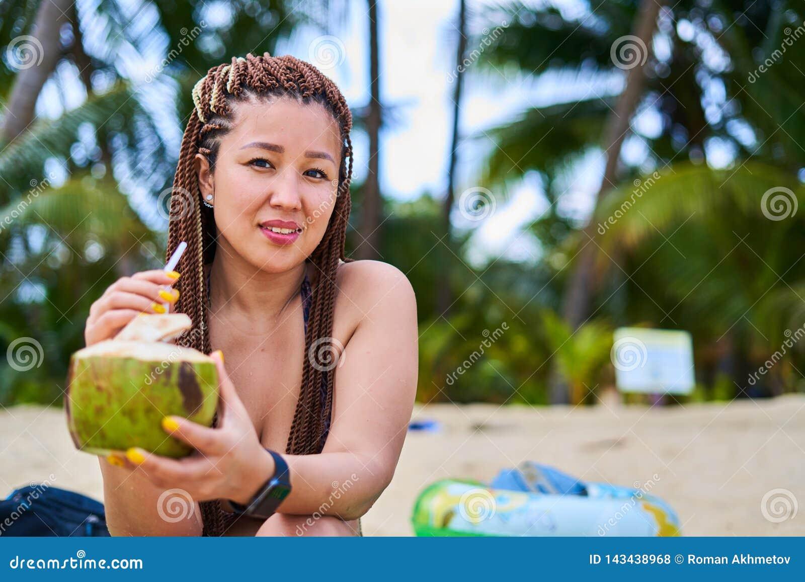 Coquettish the coconut