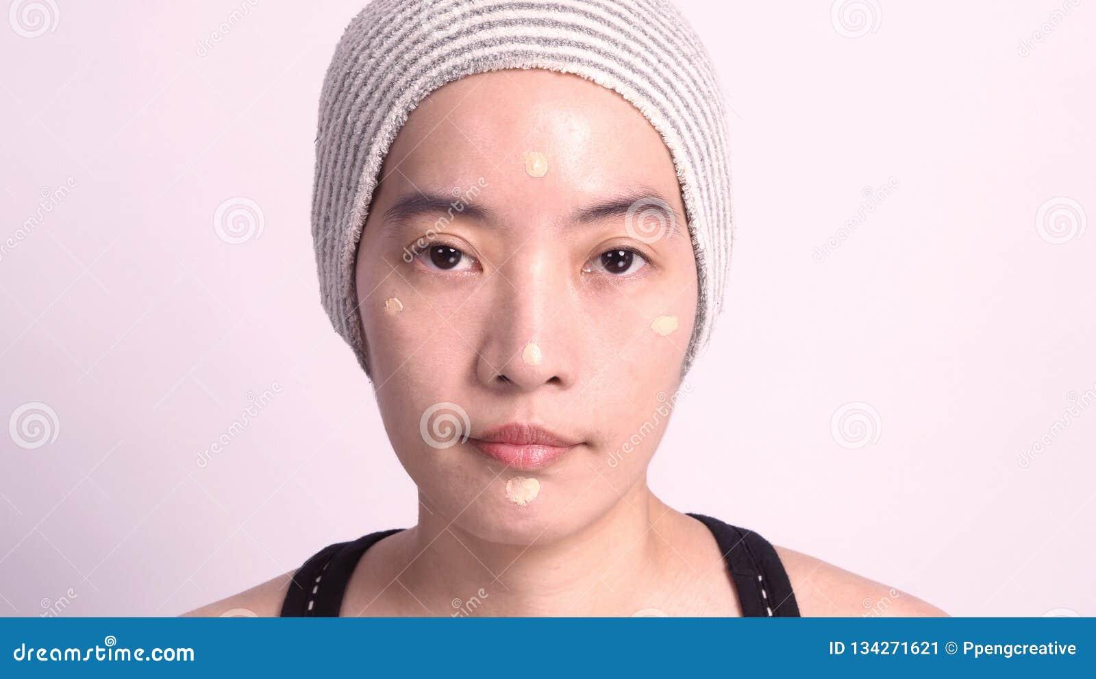 No asian facial