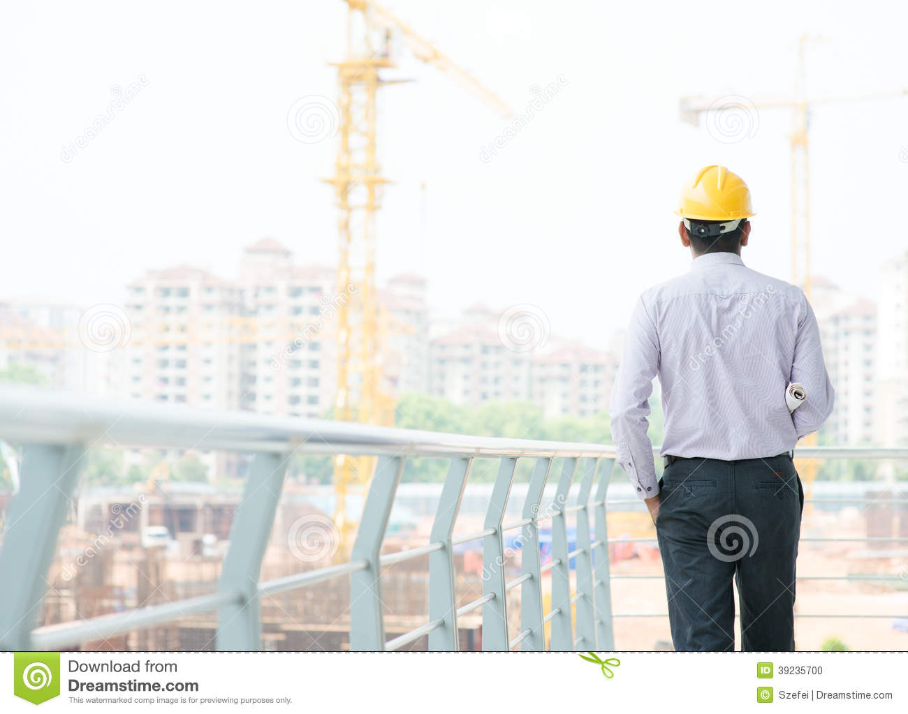 146f51f258f Asian Indian Male Contractor Engineer Stock Photo - Image of ...