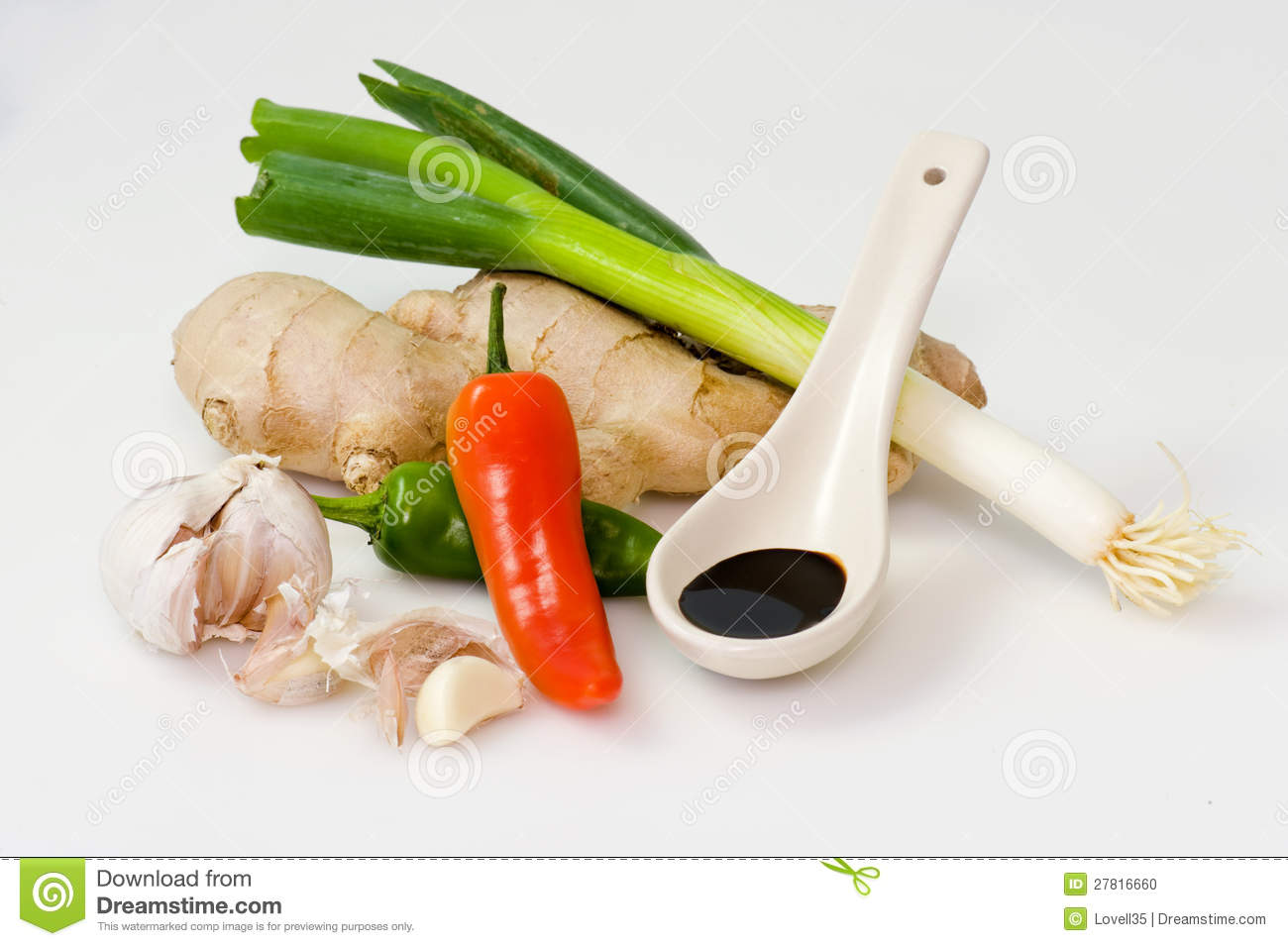 Asian ingredients stock photo image 27816660 for Asian cuisine ingredients