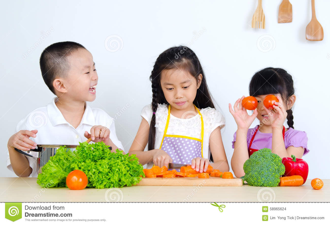 Asian kids stock photo. Image of home, cute, child, kids ...