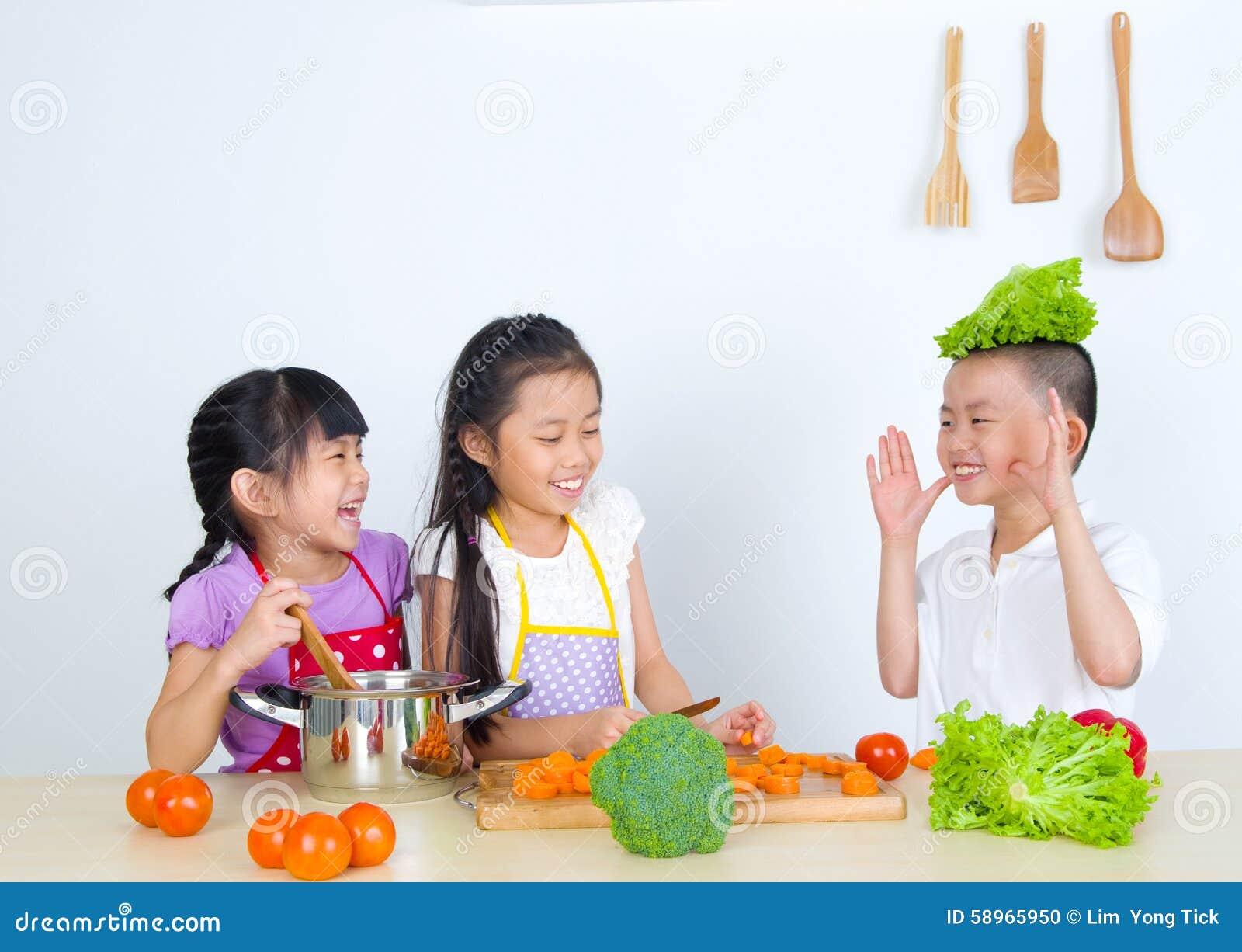 Asian Kids Stock Photo - Image: 58965950