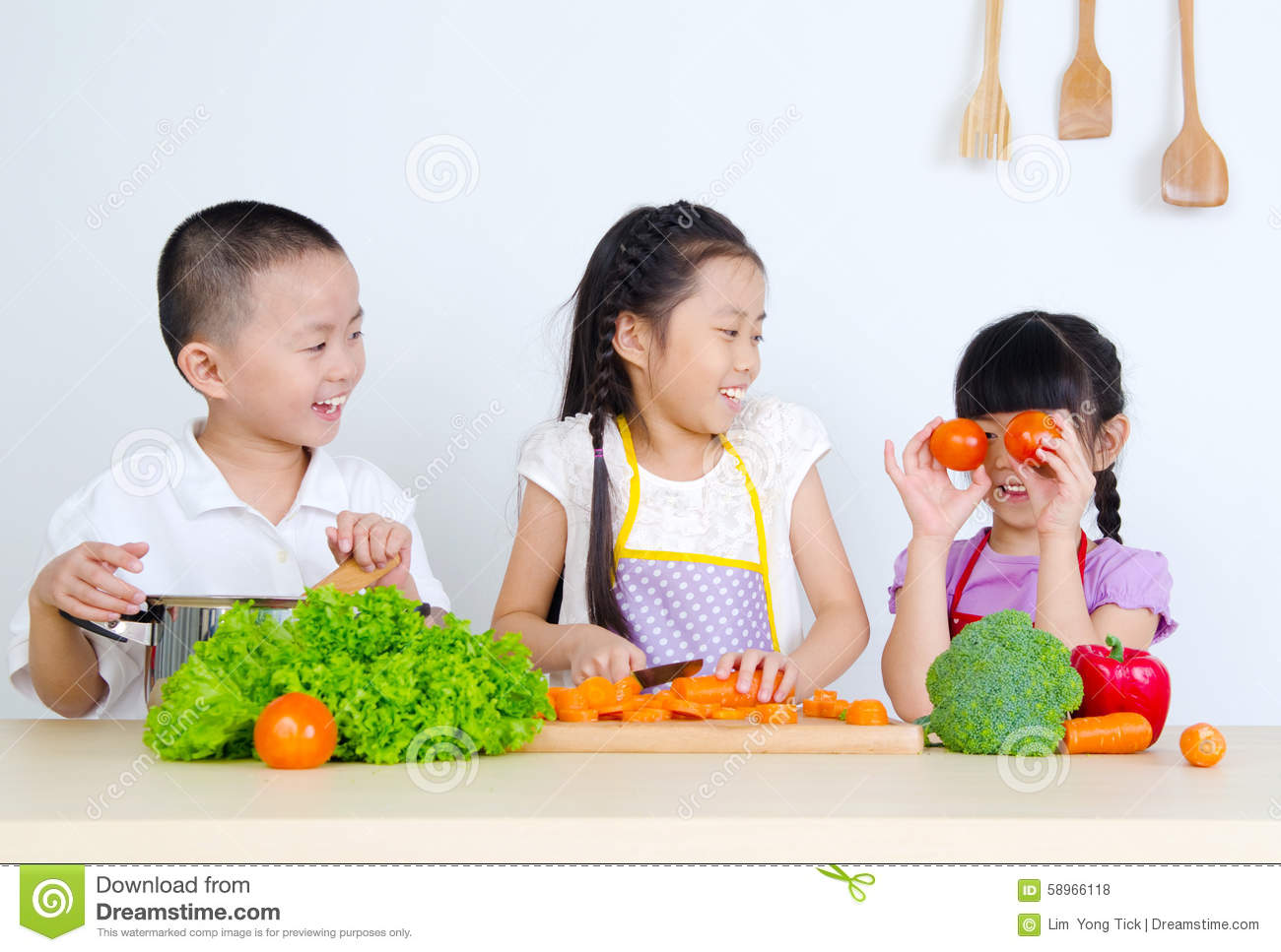 Asian kids stock photo. Image of male, eating, person ...