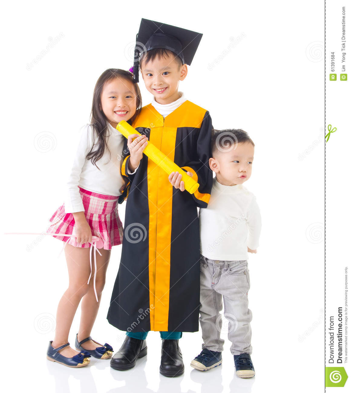 Asian kids stock photo. Image of japanese, happy, completed - 61391684