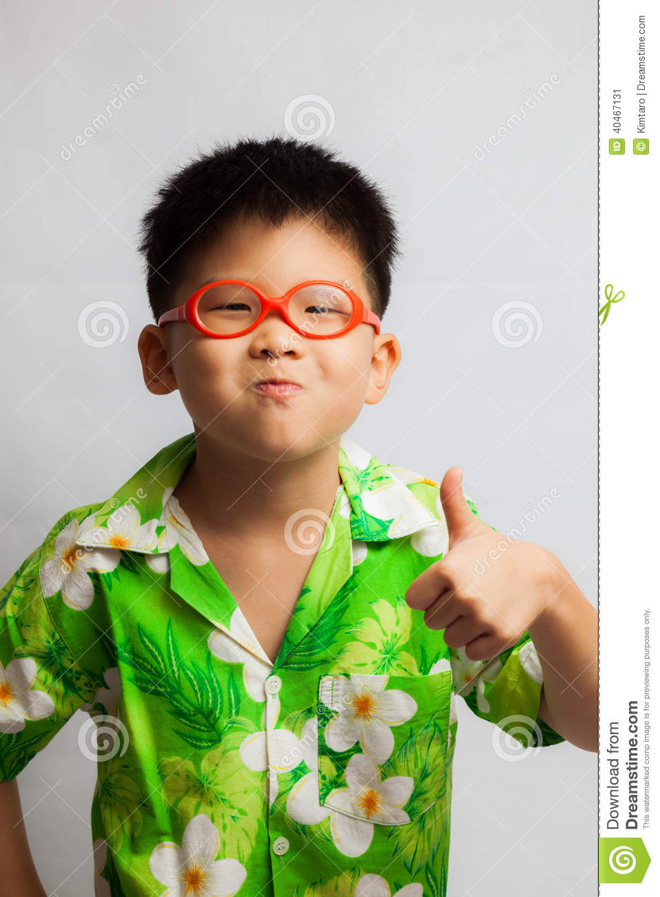 Asian Little Boy Feeling Happy Stock Photo - Image: 40467131 Giggle Clipart