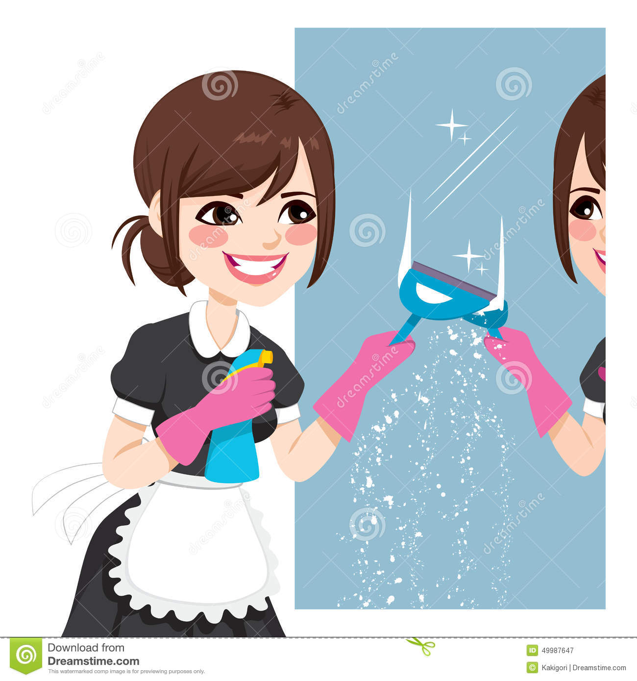 how to clean the mirrors of a preojector
