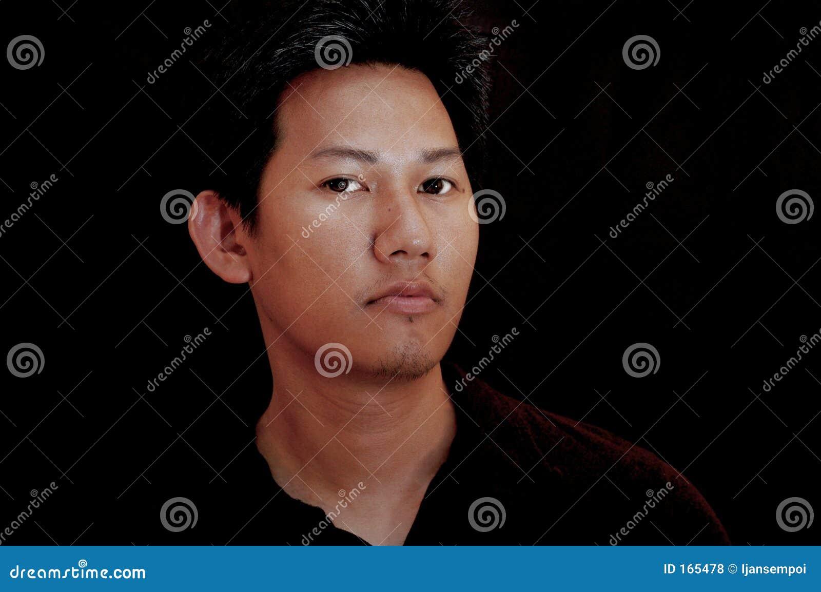 Asian male portrait