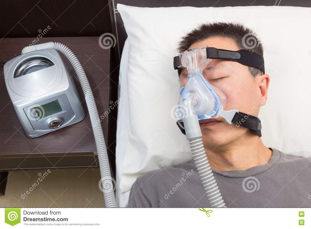 photo of cpap machine