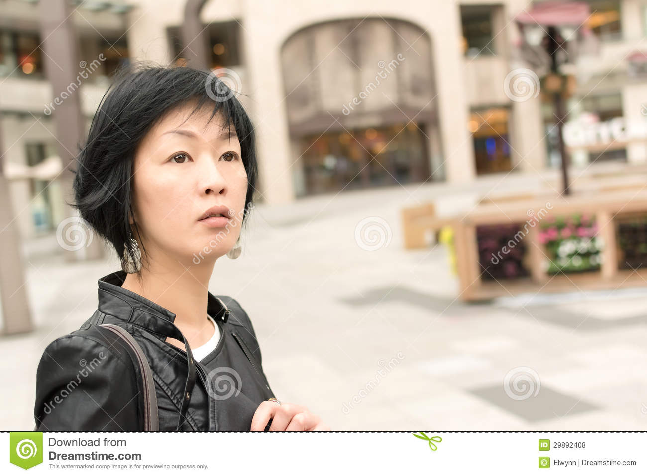 asian mature woman stock photo. image of fashionable - 29892408