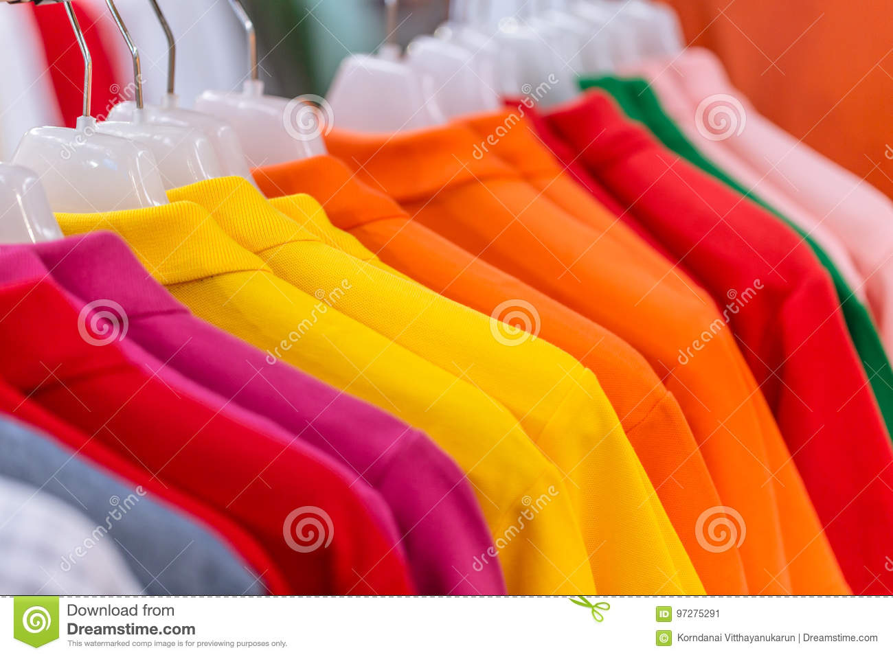 Asian men cloth fashion colorful market industry