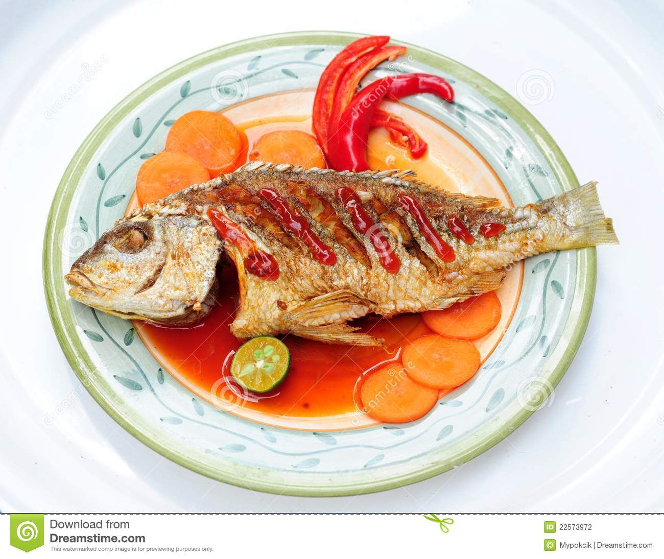 Asian menu of deep fried fish stock photo image of for Senor fish menu