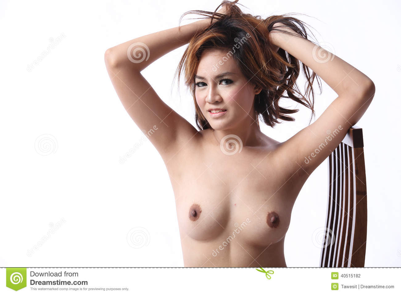 Asian topless models