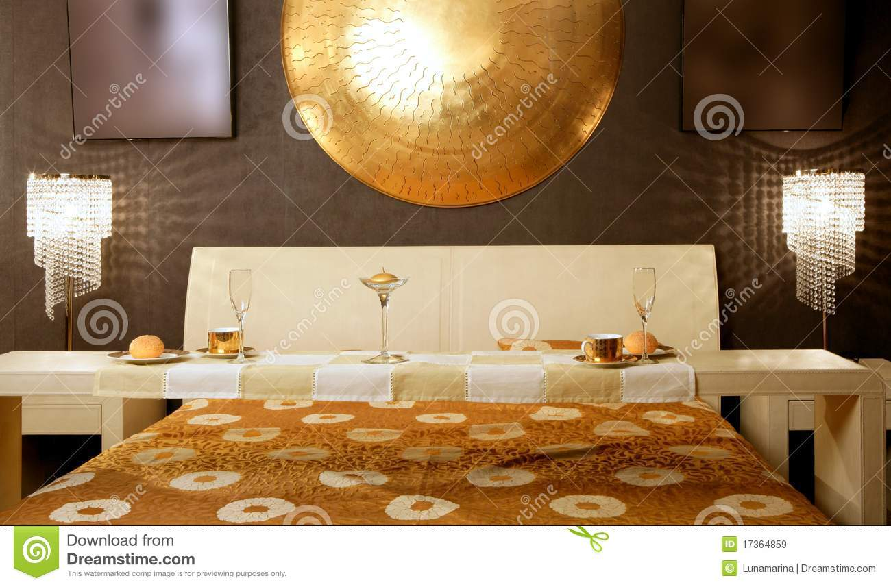 Modern asian style bedroom stock photography for Modern asian bedroom