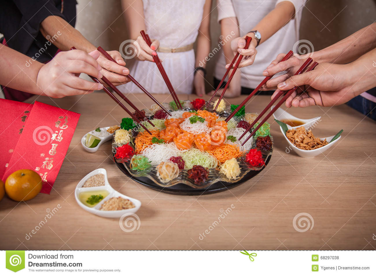 Asian Prosperity Toss, Lohei, Yusheng, yee sang