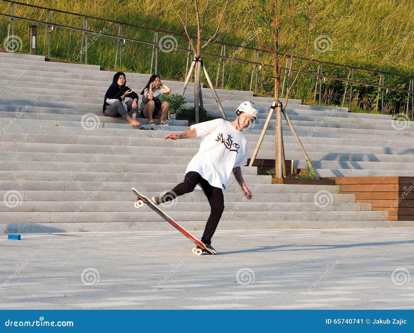 Asian Skater