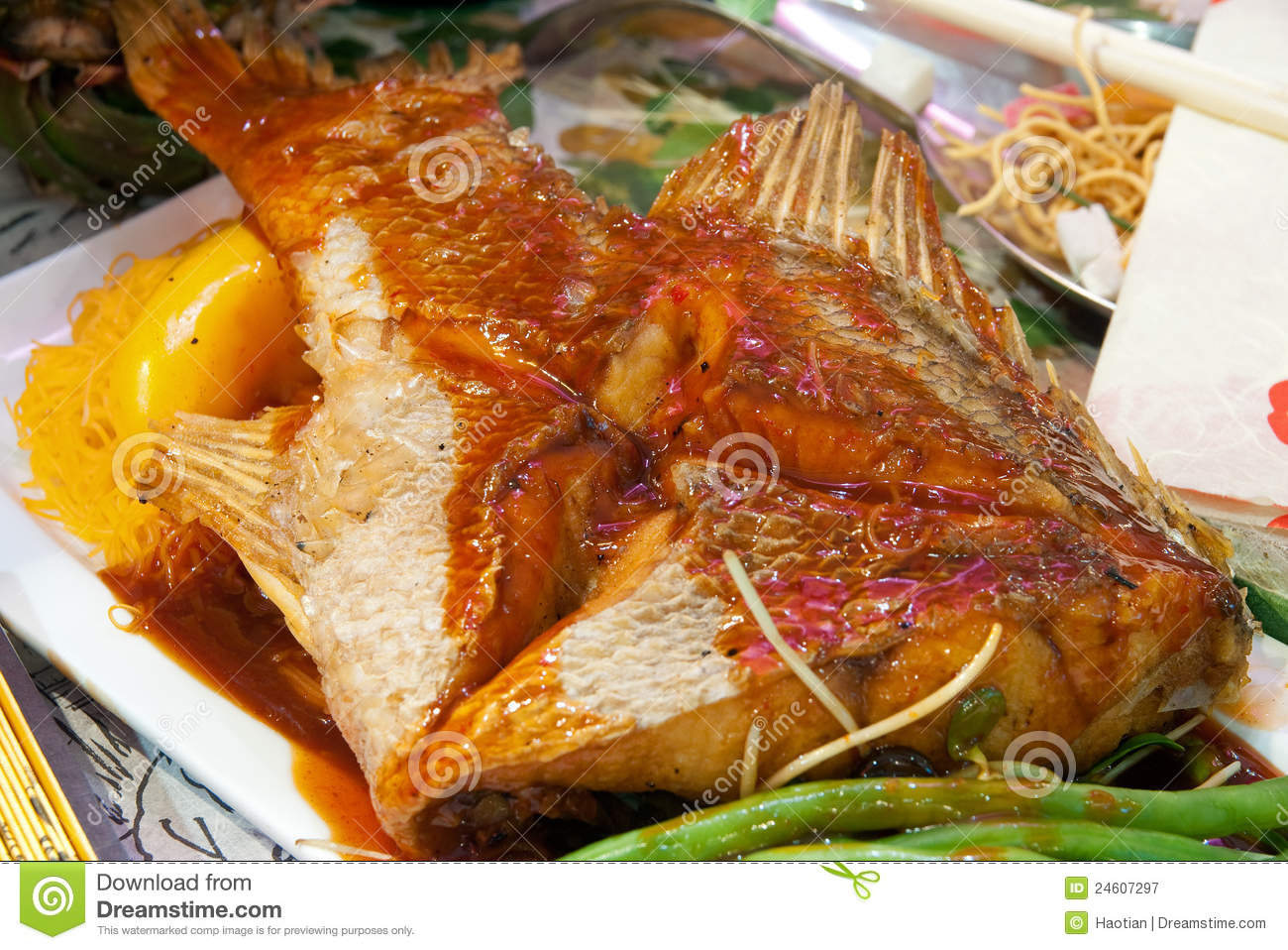 Asian Spicy Fish Royalty Free Stock Photography - Image: 24607297