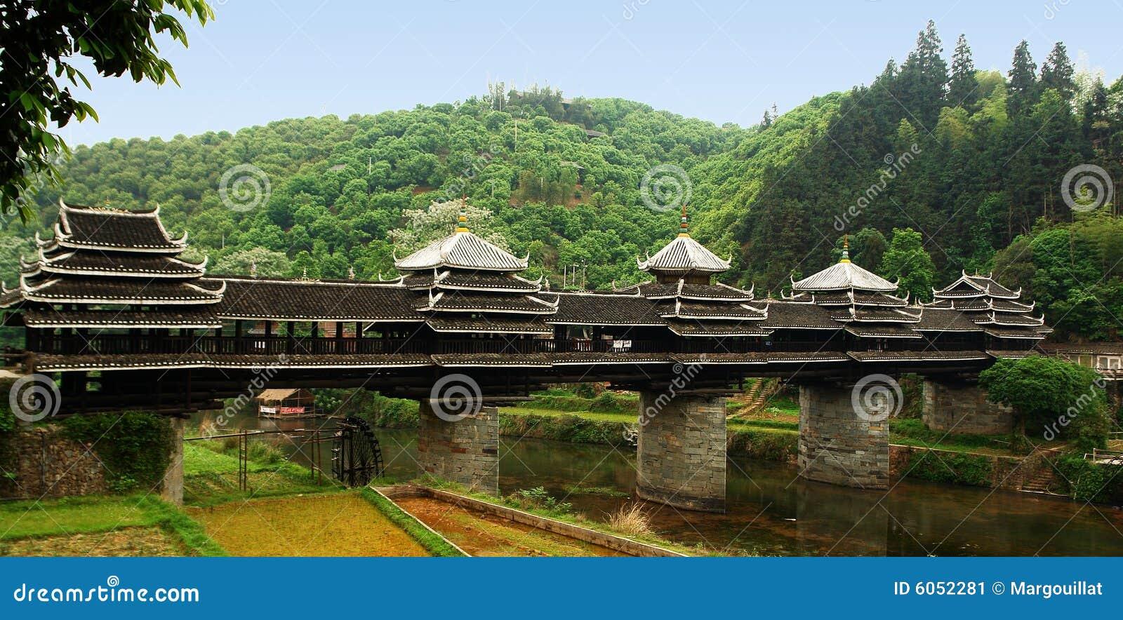 Asian style bridge chinese stock image image 6052281 for Japanese style bridge