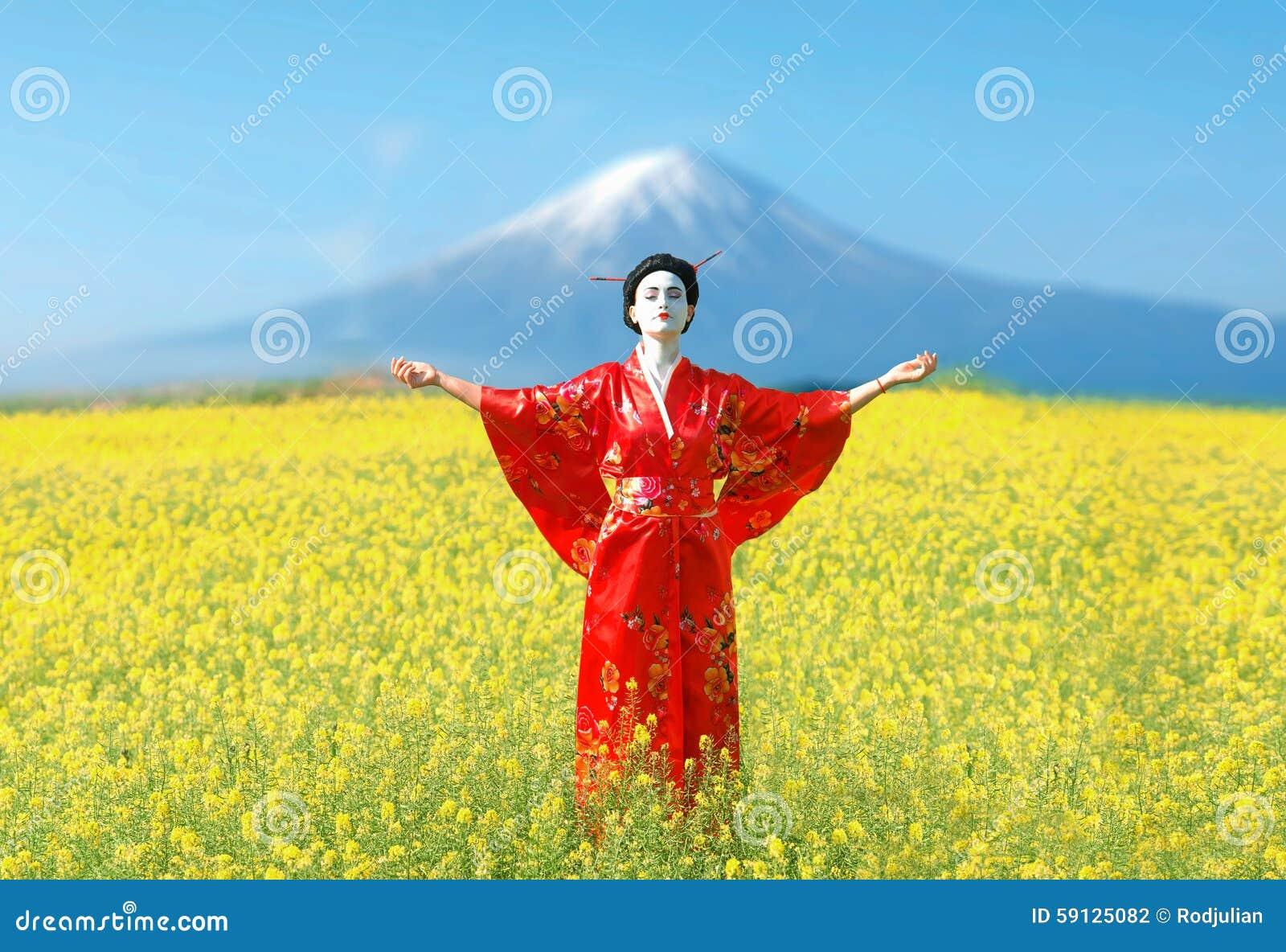 Asian style female portrait
