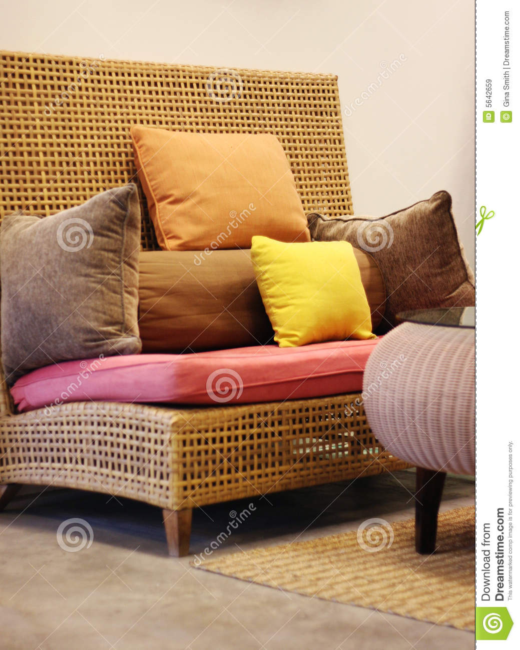Asian Style Furniture Royalty Free Stock Image