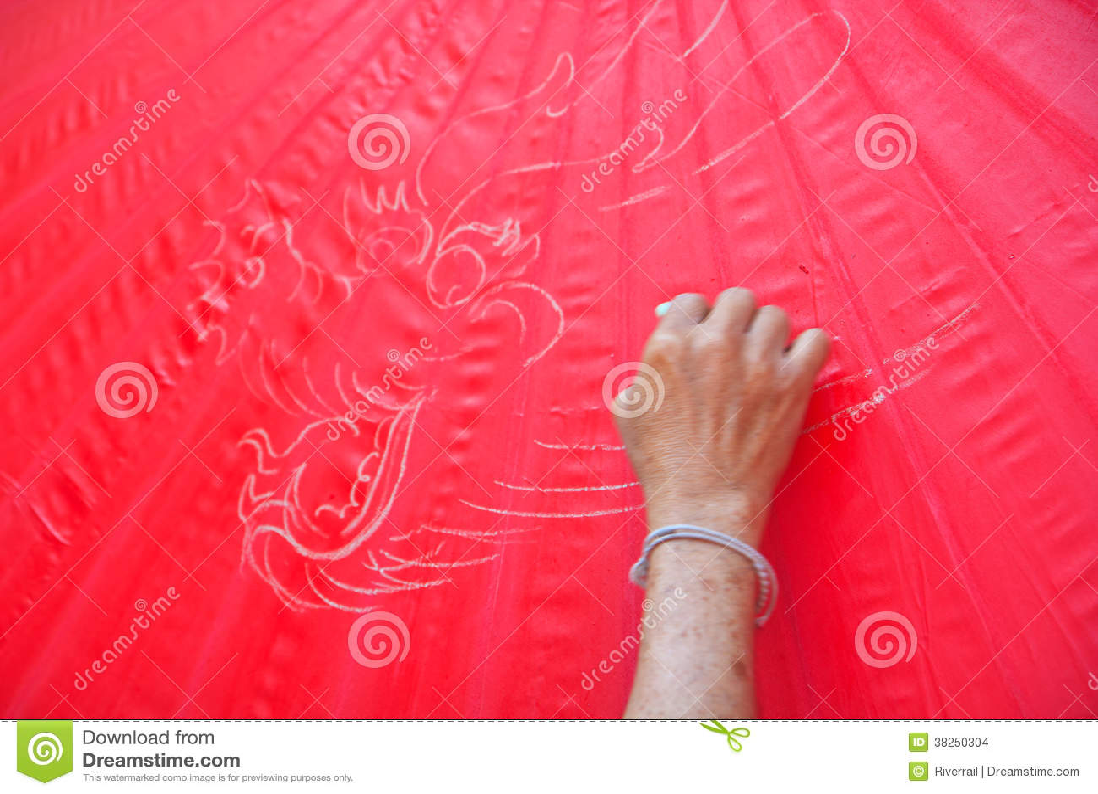 Asian style umbrella