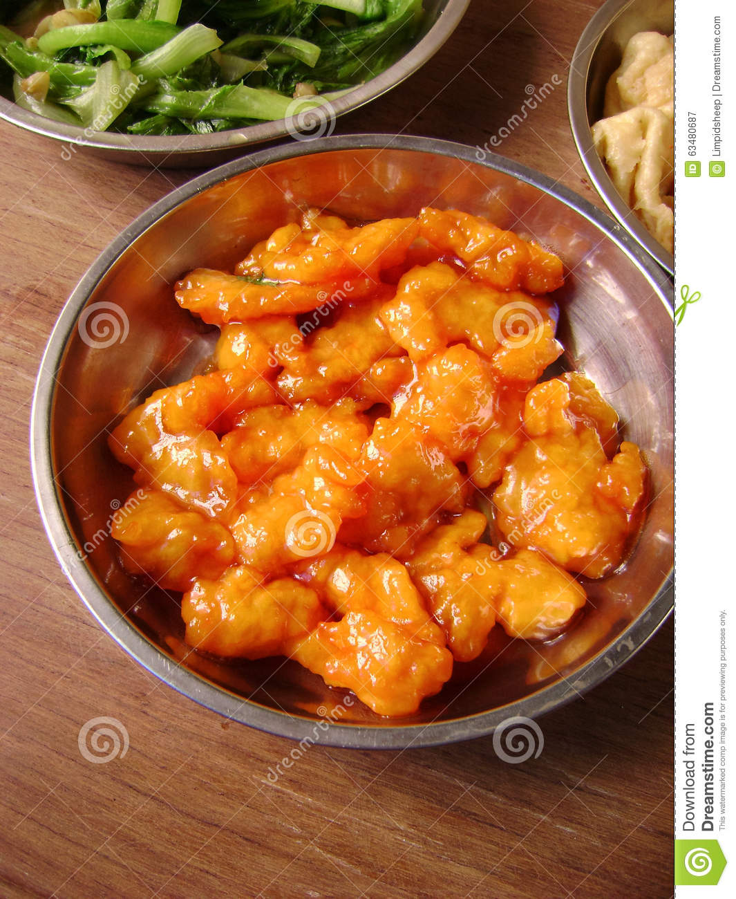 Chinese classic sweet & sour pork