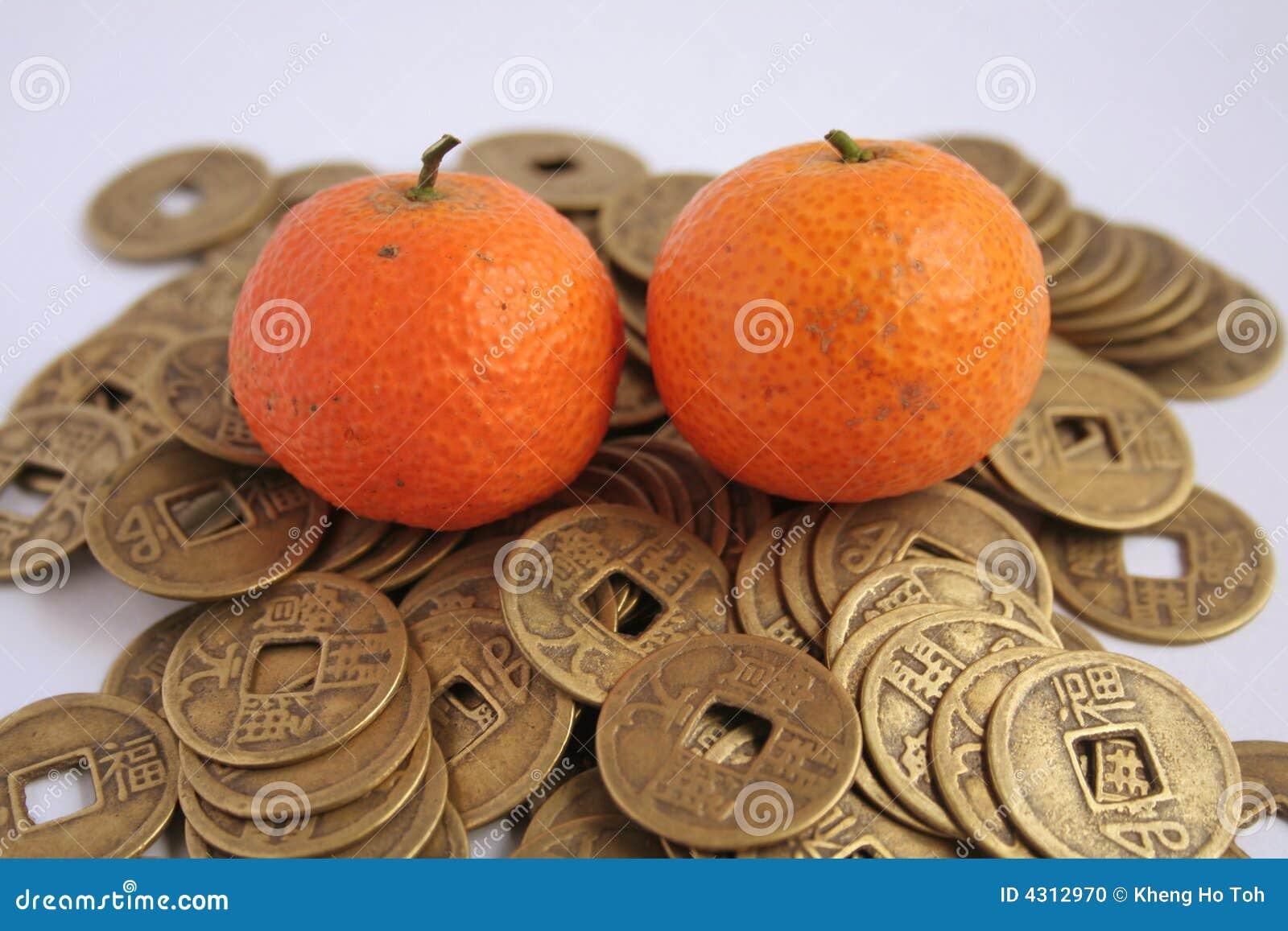 Asian Symbols Of Wealth Stock Photo Image Of Prosperity 4312970